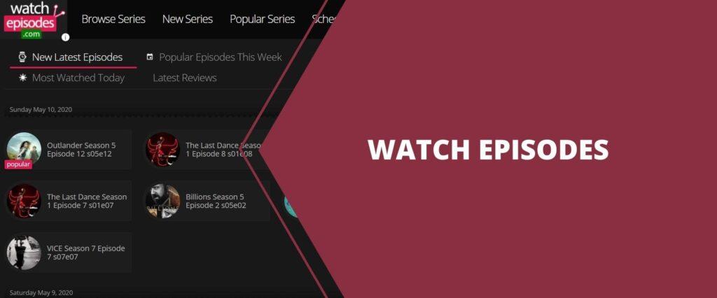 9. watch epoisodes