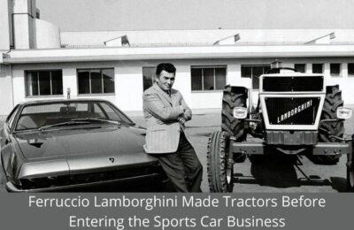Ferruccio Lamborghini Made Tractors Before Entering the Sports Car Business