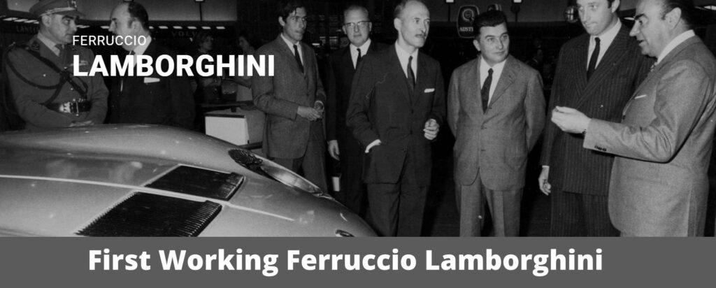 First Working Ferruccio Lamborghini